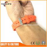 Bracelete de borracha do presente RFID da promoção com cor e tamanho diferentes