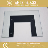 5mm vidro impresso de silk-screen/Vidro Impressão Laminados/ cozinha de vidro do aparelho