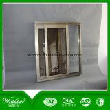 Finestra di scivolamento di alluminio rivestita di colore di Anosized per la vendita calda