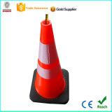 '' Cono de la seguridad en carretera del tráfico del pvc certificado Ce 28 ULTRAVIOLETA antis durables flexibles