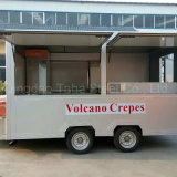متحرّك طعام شاحنة لأنّ يقلى دجاجة جعة وجبة خفيفة هاتف جوّال عمليّة بيع