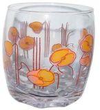 فنجان زجاجيّة مع لون جعة فنجان برميل دوّار [سد-ه0099]