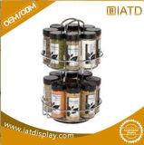 Gegensupermarkt-elegante Entwurfs-Metalldraht-Bildschirmanzeige-Zahnstangen-Süßigkeit-Zahnstange
