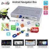 Cadre androïde de navigation pour la carte pionnière de réseau support de DVD, Facebook, jeu de Google
