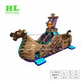 Piccola barca gonfiabile sveglia del pirata