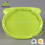 Benna ovale di plastica della vernice dei pp con il coperchio e la maniglia del metallo