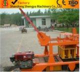 De Beweegbare Concrete Stevige Baksteen die van de dieselmotor Machine/de Machine van het Blok van het Eierleggen vormen