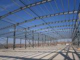 Construction préfabriquée légère de structure métallique pour l'atelier