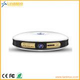 Projector de cinema em casa inteligente sem fio Super HD estilo redondo best-seller