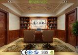 Prueba de agua en el interior compuesto de plástico y madera Panel de pared WPC en tamaño 200*9 mm.