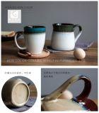 Conjunto pequeno pote de leite e chá caneca grés