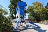 Colocação de betão em separado as barras de pulverização pode ser usado quando um veículo da lança está indisponível ou em situações onde o caminhão da lança pode não ser capaz de aceder convenientemente