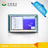 Étalage de TFT LCD de 4.3 pouces avec le contact résistif de 4 fils