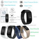 Bracelete esperto de Bluetooth 4.0 com função da pressão sanguínea (A09)