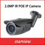 2.0MP cámara de red del punto negro de la seguridad del CCTV del IP Poe IR (WH2)