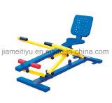 屋外の適性装置の体操のローイングマシン