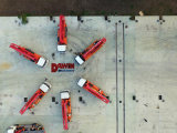 Camion de pompe concrète de boums de Sinotruk HOWO 4*2 4