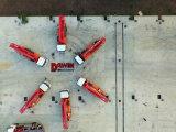 Sinotruk HOWO 4*2 4 붐 구체 펌프 트럭