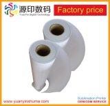 Shanghai fabricante de papel de la sublimación de alta calidad para el textil