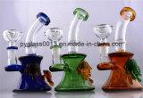 رخيصة 8 بوصة زاويّة [بوروسليكت] نارجيلة [أيل ريغ] [سموك بيب] زجاجيّة
