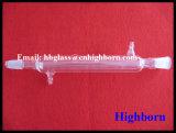 Condensador reto do vidro de quartzo da pureza elevada