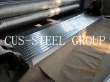 Il rivestimento galvanizzato tuffato caldo della parete del metallo/ha ondulato il piatto di tetto d'acciaio