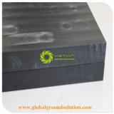 Variété UHMWPE Grue de polyéthylène Outrigger Patins en plastique Tapis/tapis de grue