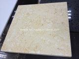 Солнечная бежевая мраморный естественная каменная плитка мрамора Onyx для стены