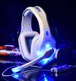 USB、LED LightとのパソコンGaming Headset