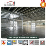 15X20m Professional tripolarizes Decker Tent 3 Storey Marquee Structure for Wedding
