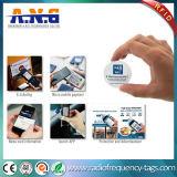 水晶エポキシの防水習慣NFCはステッカーのアンドロイドに付ける