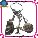 Metal Keychain de OEM/ODM com o presente do Keyring do metal