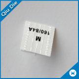 Escritura de la etiqueta impresa no tejida impresa venta al por mayor de Stickets para la ropa