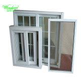 Квадратные рамки одного стекла скользящего окна из ПВХ