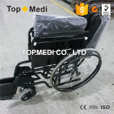 Olderly People를 위한 광저우 Topmedi Economical Manual Steel Wheelchairs