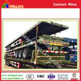 Tri d'essieu du lit plat 40FT du conteneur Cimc remorque semi à vendre