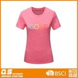 T-shirt imprimé à manches courtes pour femmes