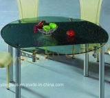 証明書のセリウム、SGCCのAustralainのベンチマークが付いている黒いパターンコーヒーテーブルの上ガラス