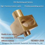 Machine automatique d'usine de rechange d'usinage de précision Fraisage CNC partie en laiton