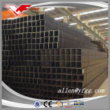 20X20--400X400mmの黒い正方形および長方形の空セクション鋼鉄管
