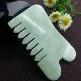 Peine del jade de Xiuyan para el masaje principal