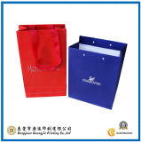 Colorful ODM Flower Paper Bag pour Shopping (GJ-Bag056)