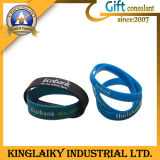 Silicone Bracelet/Wristband con Braille per Promotional Gift