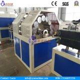 Linha de produção trançada da mangueira da fibra do PVC/extrusora plástica