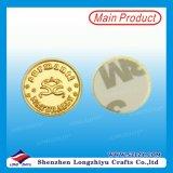 Étiquettes métalliques en laiton avec logo, OEM / personnalisé