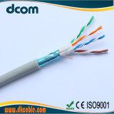 De Kabels van het Netwerk 24AWG Copper/CCA van de Kabel Cat5e van FTP van de Fabrikant van kabels met Concurrerende Prijs