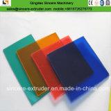 Chaîne de production monolithique de feuilles de l'extrusion Line/PC de panneau de polycarbonate
