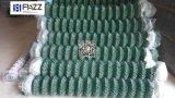 電流を通された鉄の金網の/Chainリンク網の/Fenceの金網