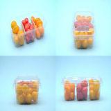 흡수성 패드를 가진 또는 없는 과일 음식 사용 PP 플라스틱 쟁반