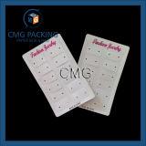 Geformte Ohrring-Bildschirmanzeige-Karte für Schmucksachen (CMG-044) auf Band aufnehmen